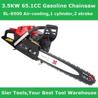Wholesale Gaden PowerTools KW CC Gasoline Chainsaw with quot Guide Bar SL cylinder stroke Air cooling Sier CE tools