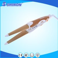 Wholesale Shinon SH sprial hair curler iron high quality new design hair sprial irons