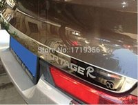 Wholesale high quality Rear Trunk molding Lid trim For KIA Sportager R with Stainless Steel