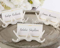 antler table - Wedding Supplies Resin Antler Table Place Card Holder for Wedding table decoratoins Party Favors