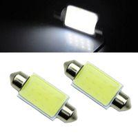 Wholesale 2 Car COB LED W White Festoon mm Initerior Dome Reading Light
