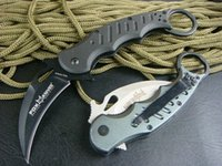 Cheap Hot selling FOX KARAMBIT CLAW KNIFE SCIMITAR FOLDING KNIFE G10 security police supplies Free shipping