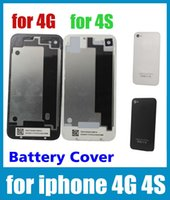 Wholesale smart phone battery case Back Glass Battery Housing Door Cover Replacement Part for iphone S G cell phone housing SNP001
