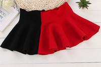 Spring / Autumn A-Line Knee-Length Hot! Girls Umbrella Skirt High Waist Dressy Bust skirt Autumn Winter Kids Party Dress Children Girls Clothes Clothing S M L XL XXL E0930