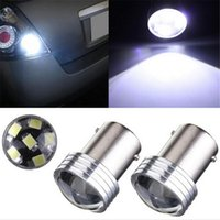 Wholesale 4x HID White BA15S P21W SMD LED Projector Bulb Backup Reverse Light
