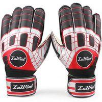 Soccer Finger Gloves Twill Cool goalie gloves all size Ventilate latex soccer ball Wrist band goal keeper Quality football finger guard