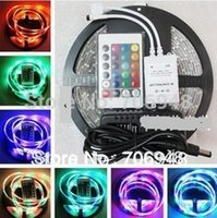 Wholesale 7M SMD RGB Waterproof LED Strip IR Remote Hot promotion pb free