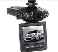 Wholesale H198 Car DVR Camera with Inch Degree Rotated Screen IR LED Night Vision Camcorder Video Recorder dash Camera