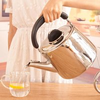 Wholesale 4L Electronic New Stainless Steel Electric Water Kettle To Boil Tea Kettles Boiling Automatic Whistling kettle