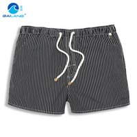 Cheap Wholesale-Men Beach Shorts Brand Quick Drying Mens Board Shorts Surfing Sea Summer Man Swimwear Swimsuits Swimming Boxer Trunks Sports
