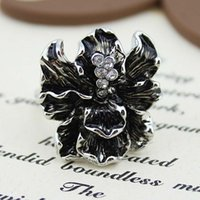 biker rings - Rock Hearts Biker Rings for man Vintage Gothic Rings Punk Style Silver Plate Band Rings The Black Dahlia Murder
