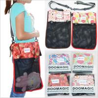 Wholesale LJJG30 New Baby Stroller Storage Bags Dual Purpose Mummy Bags Carriage Bags Waterproof Hanging Bags Adjustable shoulder strap bag
