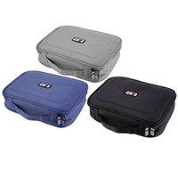 Wholesale New pc Travel Case Electronics Accessories Storage Set Organizer Bag Padded Bag