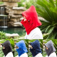 Wholesale Winter outdoor men and women warm hat and thick cold wind Baotou cap sleeve cycling