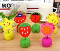 Wholesale Wooden clip Kawaii pencil sharpeners pencil cutter school stationery stuff office funny supplies