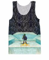 basketball games videos - Legend of Zelda Great Fairy Fountain Tank Top bit video game print d summer style vest basketball cartoon jersey for women men