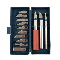 Wholesale 13pcs Multifunction Precision Knife Grave Scribing Razor Tool Set With Case