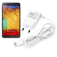 Cheap 2014 New ArriveFor Samsung Galaxy Note 3 N9000 N9002 N9005 N9006 N9008 EU Charger Freeshipping&Wholesale