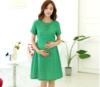 dresses for pregnant women - Maternity dress short sleeve fashion cotton summer clothes for pregnant women dresses