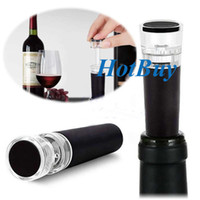 bottle sealer - Red Wine Vacuum Retain Freshness Bottle Stopper Preserver Air Pump Sealer Plug