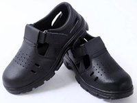 steel toe cap - 2015 Hot Sale Men Protection Footwear Safety Shoes Work Boots Safe Steel Toe Cap Covering PU Leather Protective Shoes Summer Ventilation