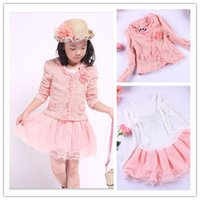 Wholesale girl tutu dress coat dress tutu sets colors size for selection years girl dress children dress girl clothing OD0901