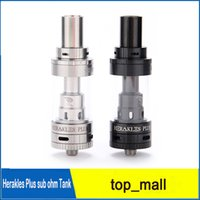 Replaceable Metal Herakle 100% Original SENSE sub ohm tank Herakles plus tank 3.6ml wholesale Atomizer VS zephyrus v2 uwell crown tank arctic turbo 010147