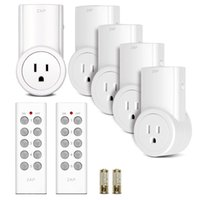 Wholesale Sovo Wireless Remote Control Electrical Outlet Switch for Household Appliances