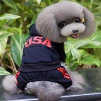 Wholesale Dog Apparel Autumn and Winter Design Pet Clothes Modern USA Design Dog Outer Pet Clothing Pet Clothes