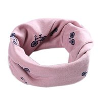 bicycle shawls - Ring Scarfs Shawl Unisex Winter Cotton Bicycle Printed Girl Boy Collar Neck Warmer Neckerchief For Y