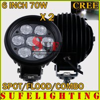 Wholesale 2pcs INCH w LED Driving Light v Offroad Light x4 tractor Driving Light For SUV ATV X4 LED Work Light W