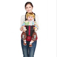 backpack belt - Baby Carrier Sling Wrap Rider Hold Waist Belt Shoulders Backpack New Design Stool Kids Infant Comfortable Hip Seat BB0003