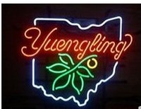 beer glass sizes - Revolutionary Neon Super Bright YUENGLING HOIO BUCKEYE GLASS Neon Beer Sign quot x15 quot Available multiple Sizes