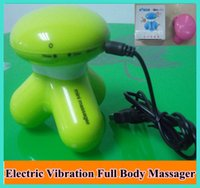 Wholesale Fashion Portable Mini Triangle Electric Vibration Full Body Massager USB Cable
