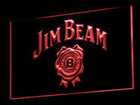 Wholesale a049 Jim Beer Bar Beer LED Neon Light Sign Wholeseller Dropship colors to choose
