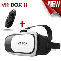 Wholesale 2016 New VR Box Upgrated Version VR Virtual Reality Glasses Rift D Google Cardboard for quot quot Phone