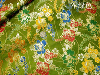 Wholesale Pente peony cheongsam costume costume costume imitation gold and silver brocade fabric cloth thirty five