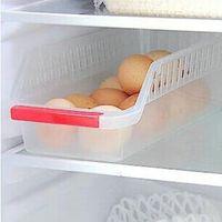 Wholesale refrigerator plastic storage baskets food and beverage drawer type storage box sorting basket
