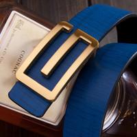 Wholesale Mens Luxury designer belts Metal G smooth buckle belts straps for men and women dress belts
