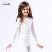 Wholesale Annil girls autumn clothes cotton knitted underwear shirt AG437479 on sale