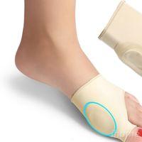 1 par El más nuevo silicón Hallux Valgus Braces Big Blackmailed corrección ortopédica calcetines dedos del pie Separador pies Cuidado