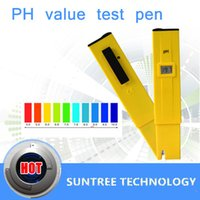 Wholesale Digital PH METER Water Acid Tester DIGITAL Acid TESTER ph Meter Water ph Aquarium Portable Acidity Pocket ph meter digital