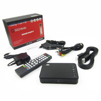 Wholesale Car hard disk U disk video player VGA HD player advertising HDMI multimedia player