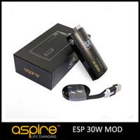 mini book - Booking Start Original Aspire ESP Box Mod W Adjustable Voltage mah Battery Mini Cute Box Mod with USB Charger Newest Products