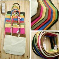 big brown purses - 2015 New Hangbag Basic Summer Big Straw Shoulder Tote Shopper Beach Bags Purses Shopping bag