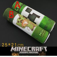 pencil holder - 20pcs minecraft roll pen bag pencil case pen boxes school pen bags pencil stationery holder Fashion as a Christmas present