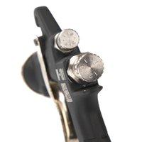 Wholesale Valianto Dual Paint Channels Gravity Feed Air Spray Gun W G Black Paint Sprayer Truck Paint Gun