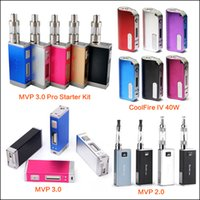 Cheap 100% Original innokin iTaste MVP 3.0 Pro Kit Coolfire IV 40W MVP 3.0 Battery MVP 2.0 With iClear 30 Starter Kit
