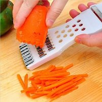 Wholesale 5 in Vegetable Fruit Slicer Cutter Sides Multifunction Handheld Peeler Chopper Dicer Kitchen Gadgets Tools bz872124