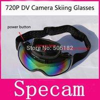photo glass - 2015 Fashion P fps Eyewear Snow Ski camera Glass Multi Color double anti fog lens Skiing Goggle HD P Camera Take Photos